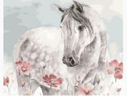 Лошадь в цветах