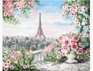 Вид из парижского сада