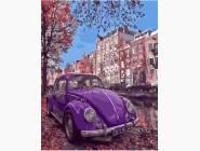Фиолетовый жук