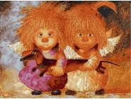 Солнечные ангелы с таксой