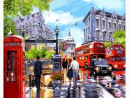Городской пейзаж Весна в Лондоне