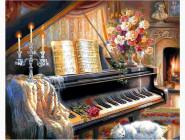 Музыкальный вечер у камина