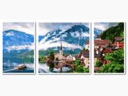 Триптихи по номерам и полиптихи Триптих. Летняя Австрия