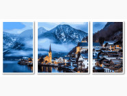 Триптихи по номерам и полиптихи Триптих. Зимняя Австрия
