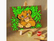 MA242 Раскраска по цифрам Король Лев