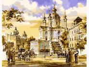 Городской пейзаж Андреевская церковь