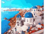 Море, морской пейзаж, корабли Санторини