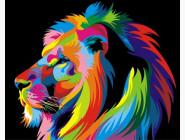 Радужный лев (профиль)