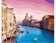 Городской пейзаж Утро в Венеции