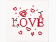 Разные тематики Набор для вышивки бисером магнита Волшебная страна Овечья любовь (FLA045)