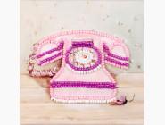 Разные тематики Набор для вышивки бисером магнита Волшебная страна Розовый телефон (FLA051)