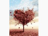 Пейзаж и природа Осеннее дерево любви