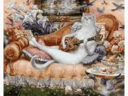 Дом белой кошки