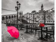 Городской пейзаж Свидание после дождя