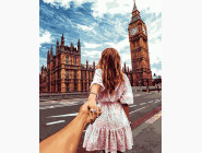 Городской пейзаж Следуй за мной. Лондон