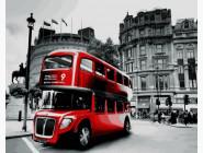 Городской пейзаж Лондонский автобус