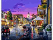 Городской пейзаж После дождя