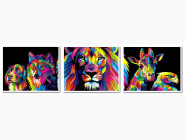 Триптих. Радужные животные