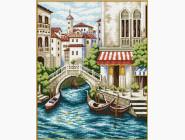 Вышивка с пейзажами Набор для вышивки Идейка Венеция (F239)