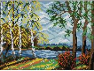Вышивка с пейзажами Вышивание крестиком Идейка Родная сторона (F339)