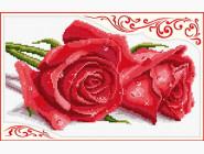 Цветы и натюрморы Вышивка крестиком Идейка Розы  (H016)