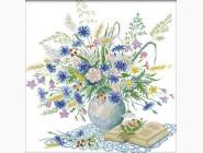 Цветы и натюрморы Набор для вышивания Идейка Романтичный букет (H303)