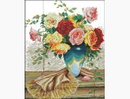 Цветы и натюрморы Набор для вышивания Идейка Букет роз 2 (H342)
