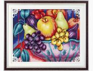 Цветы и натюрморы Набор для вышивания Идейка Фрукты (J011)