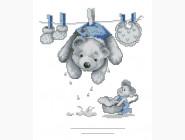 Наборы для детей Вышивание крестиком Идейка Любимые игрушки (K427)