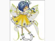 Наборы для детей Картина вышивка крестом Идейка Маленькая фея (K484)