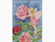 Наборы для детей Вышивание крестиком Идейка Фея цветов (K588)