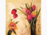 Цветы и натюрморты Вышивка бисером Идейка Подарок маме (ВБ1044)