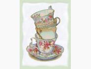 Картины для кухни  Вышивка бисером Идейка Английский чай (ВБ1069)