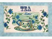 Картины для кухни  Картина бисером в рамке Идейка Время чая (ВБ2013)
