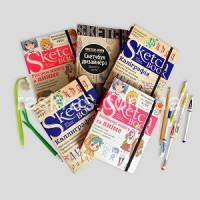 Новые скетчбуки для творческих натур
