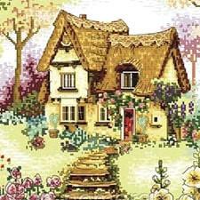 Вышивка с пейзажами