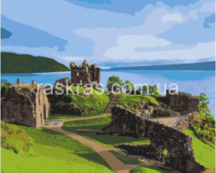 11217-AC картина по номерам Замок Аркарт. Шотландия ArtCraft