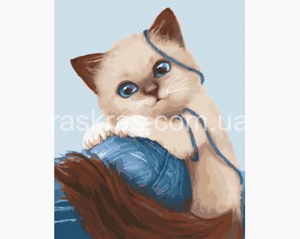 11627-AC картина по номерам Игривый котенок ArtCraft