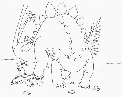 15521-AC Картинки раскраски для детей Динозавр ArtCraft