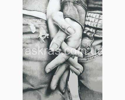 AS0907 картина по номерам Мы вместе ArtStory