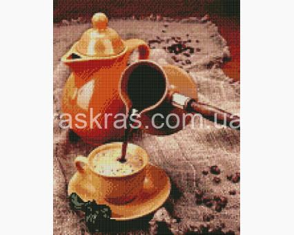 ASM12 алмазная вышивка Ароматный кофе ArtStory