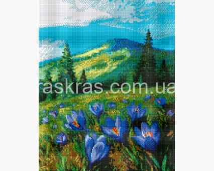 ASM17 алмазная вышивка Цветы в горах ArtStory