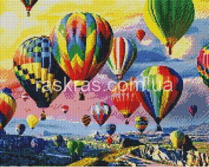 ASM25 алмазная вышивка Воздушные шары ArtStory