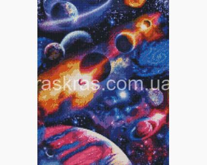 ASM19 алмазная вышивка В космосе ArtStory