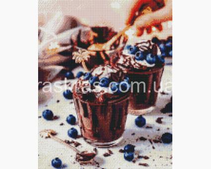 ASM30 алмазная вышивка Десерт ArtStory