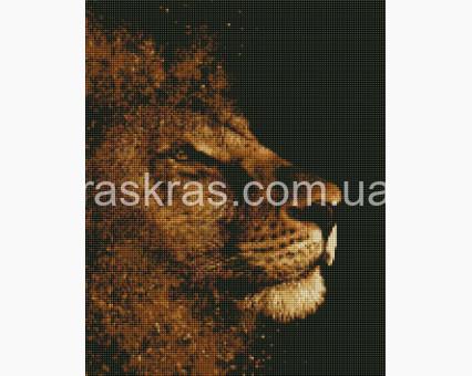 ASM9 алмазная вышивка Золотой лев ArtStory