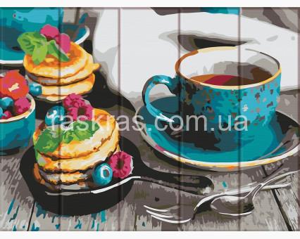 ASW105 картина по номерам Вкусный чай ArtStory