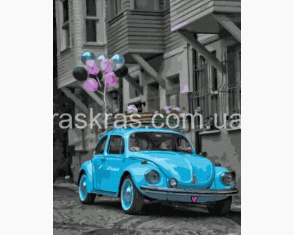 BK-GX39224 картина по номерам Праздничный жук в городе НикиТошка