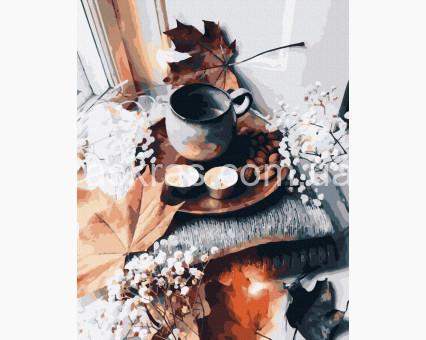 BK-GX39375 картина по номерам Осенний аромат Rainbow Art