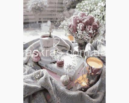 BK-GX39415 картина по номерам Романтическое утро Rainbow Art